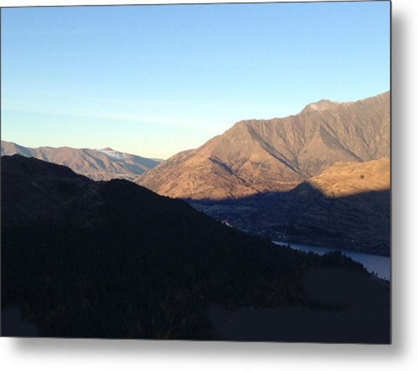 Mountains Metal Print by Ron Torborg