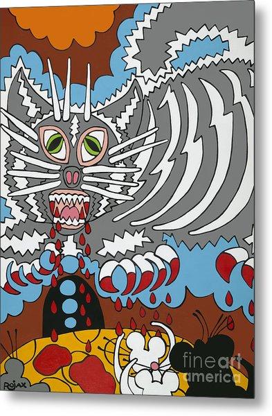 Mouse Dream Metal Print