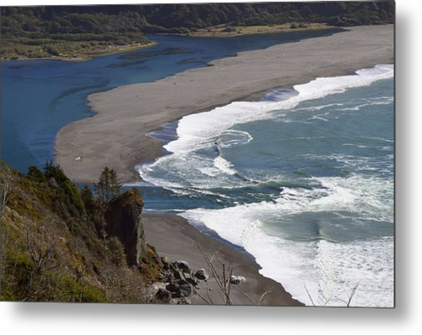 Mouth Of The Klamath Metal Print