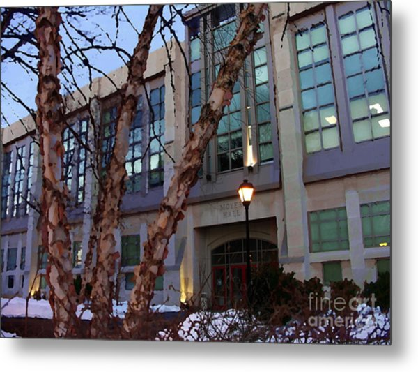 Moyer Hall - Muhlenberg College Metal Print by Jacqueline M Lewis