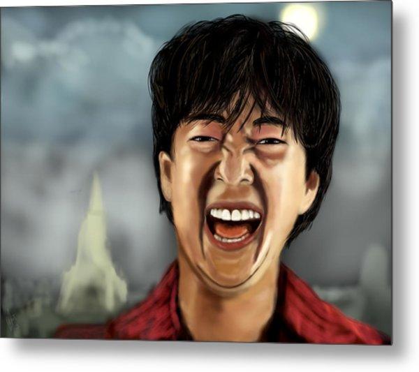 Mr. Chow Hangover Part 2 Metal Print by Mathieu Lalonde