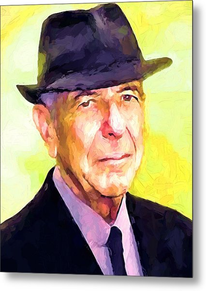 Mr. Cohen Metal Print