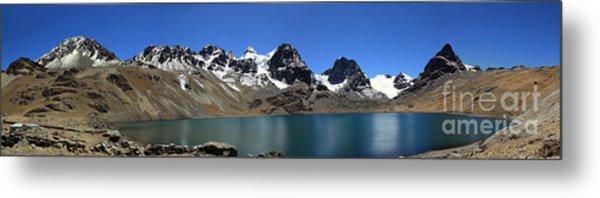 Mt Condoriri Panorama Metal Print