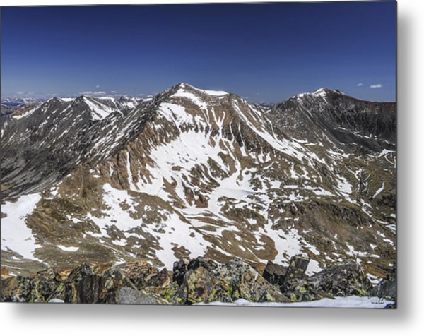 Mt. Democrat Metal Print