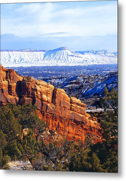Mt. Garfield In The Distance Metal Print