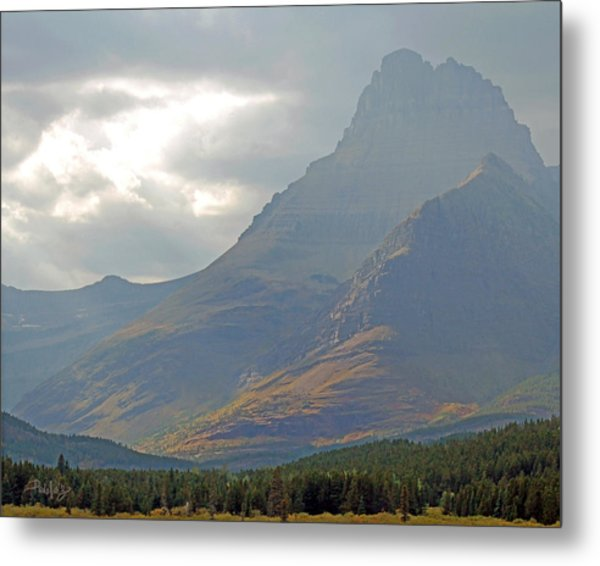 Mt Grinnell - Glacier National Park Metal Print