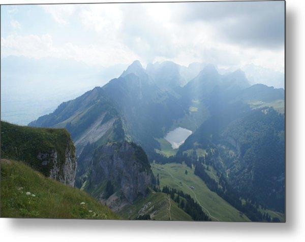 Mt. Hoher Kasten - Switzerland Metal Print by Nikki  Wang