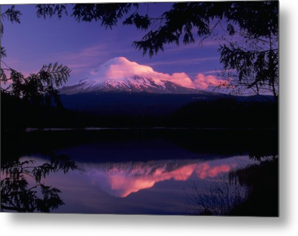 Mt. Hood Sunrise Metal Print