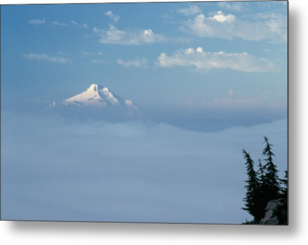 Mt. Jefferson Metal Print