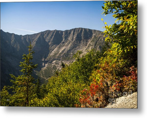Mt. Katahdin From Hamlin Ridge Metal Print