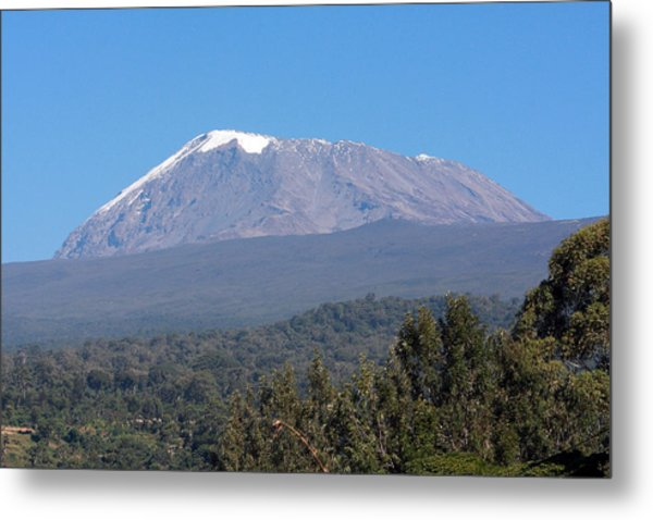Mt Kilimanjaro  Metal Print