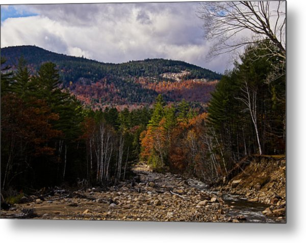 Mt. Langdon On A Sunlit Afternoon Metal Print