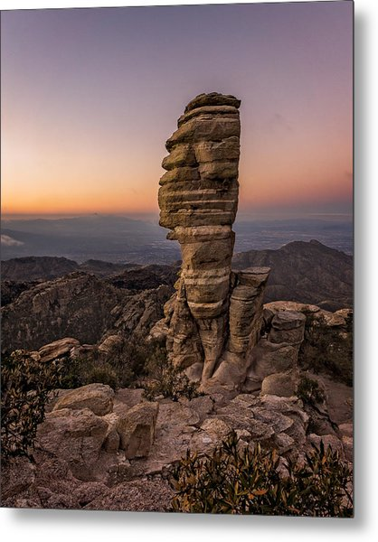 Mt. Lemmon Hoodoo Metal Print