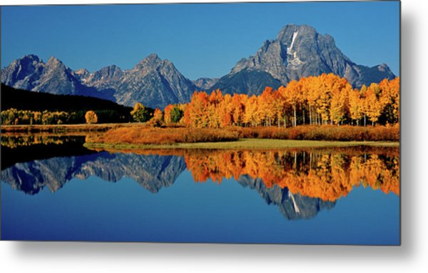 Mt. Moran Reflection Metal Print