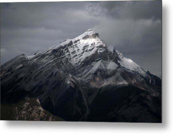 Mt. Norquay Metal Print