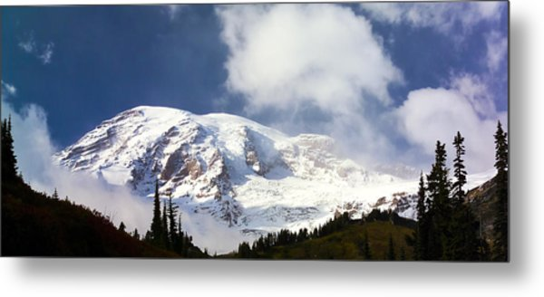 Mt Rainier II Metal Print