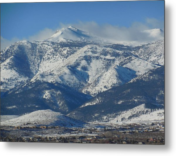 Mt Rose Reno Nevada Metal Print
