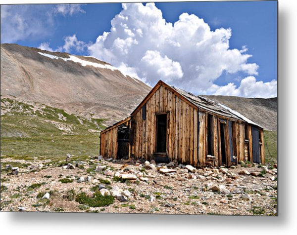 Mt. Sherman Metal Print