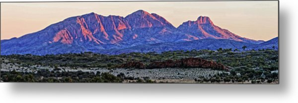 Mt Sonder Sunrise Metal Print