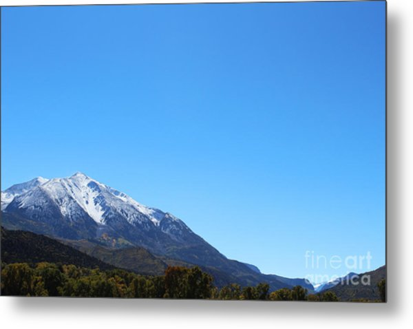 Metal Print featuring the photograph Mt. Sopris by Kate Avery