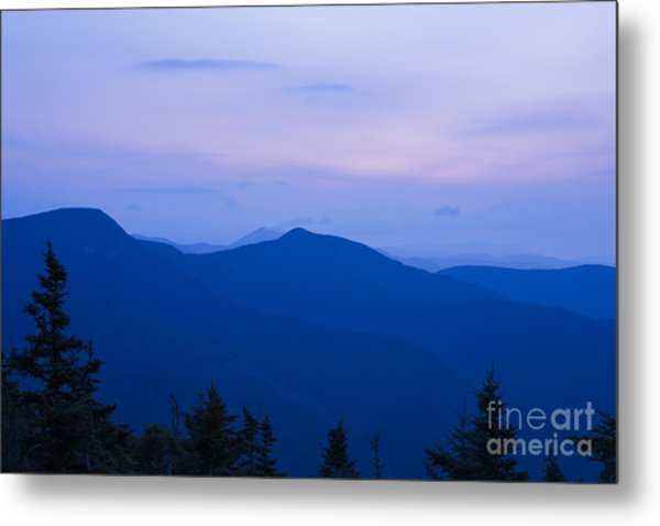 Mt Tecumseh - Waterville Valley New Hampshire Usa Metal Print