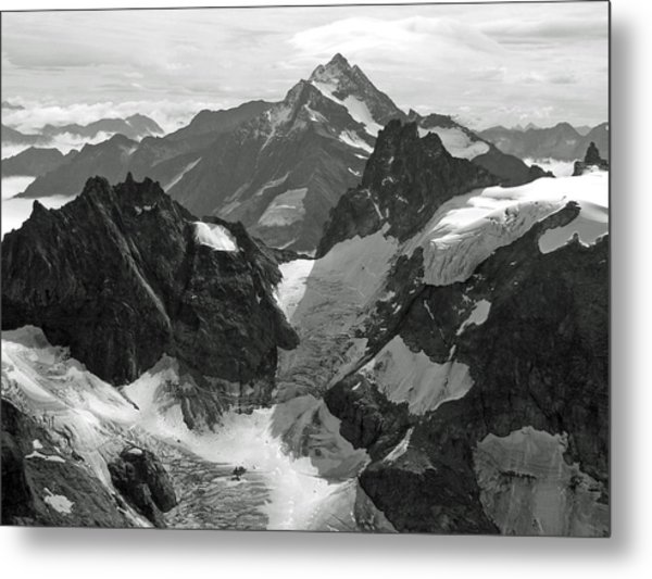 Mt. Titlis Metal Print