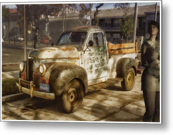 Mud Truck Metal Print