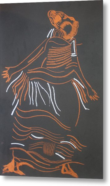 Muganda Lady - Uganda Metal Print