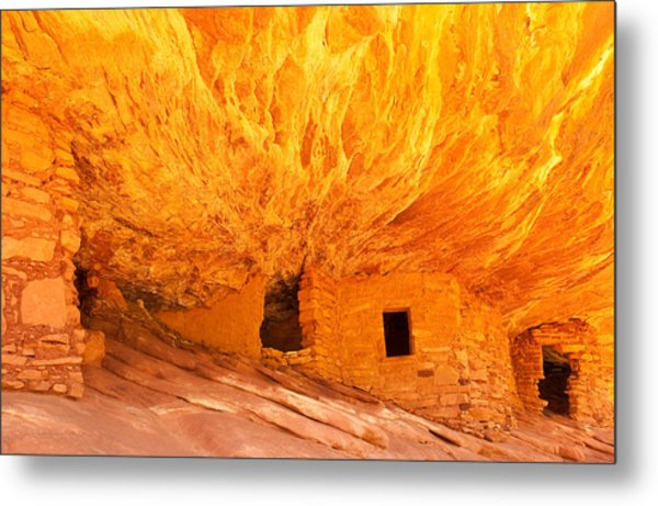 Mule Canyon Metal Print
