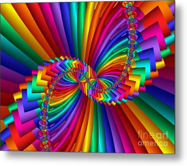 Multichrome 5 Metal Print