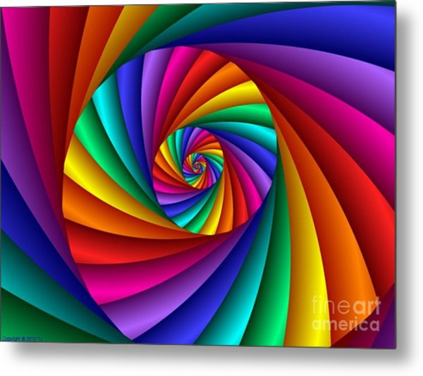 Multichrome  6 Metal Print
