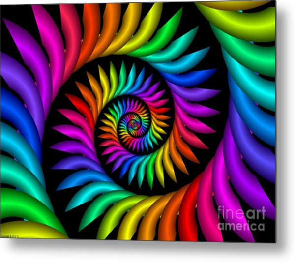 Multichrome  9 Metal Print