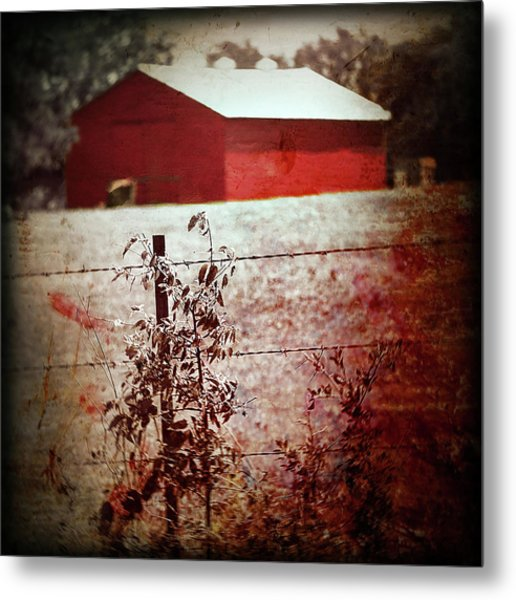 Murder In The Red Barn Metal Print