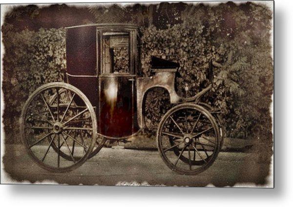 Murdoch Mysteries Carriage Metal Print
