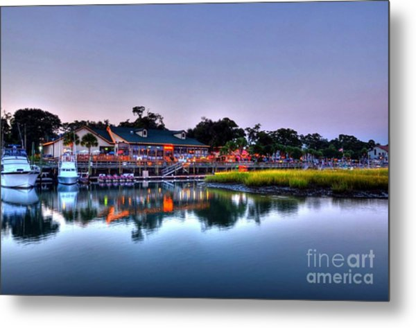 Murrells Inlet Evening Metal Print
