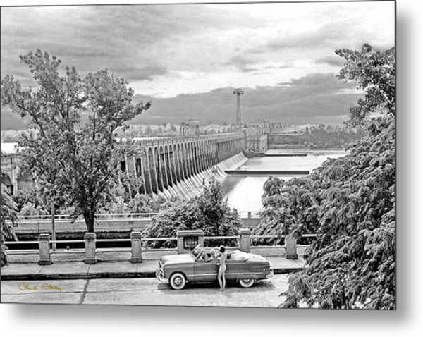 Muscle Shoals Metal Print