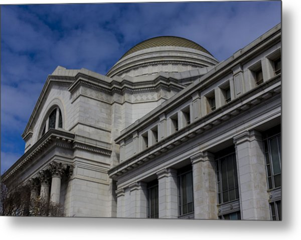 Museum Of Natural History Metal Print