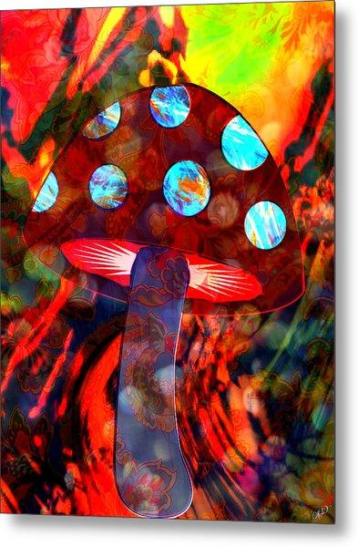 Mushroom Delight Metal Print