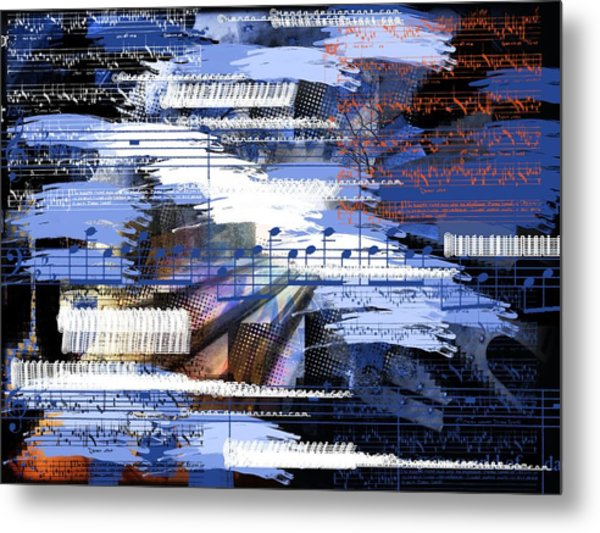 Music From Ama Metal Print