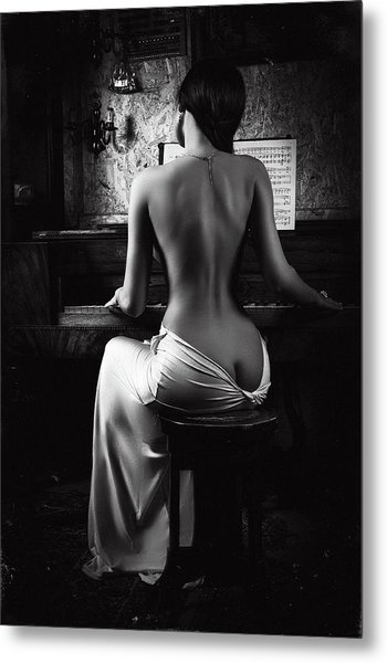 Music Of The Body Metal Print by Ruslan Bolgov (axe)