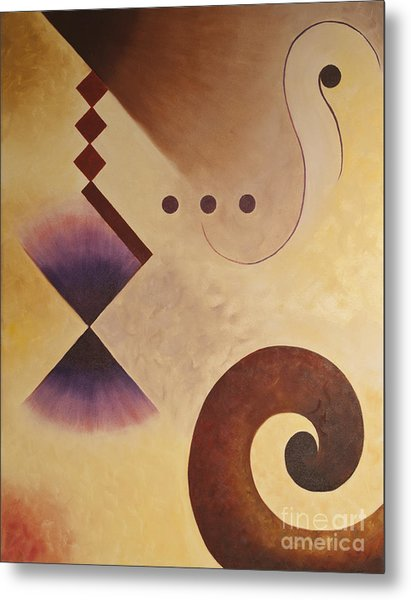 Musical Journey I Metal Print