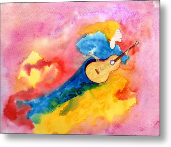 Musical Spirit 19 Metal Print