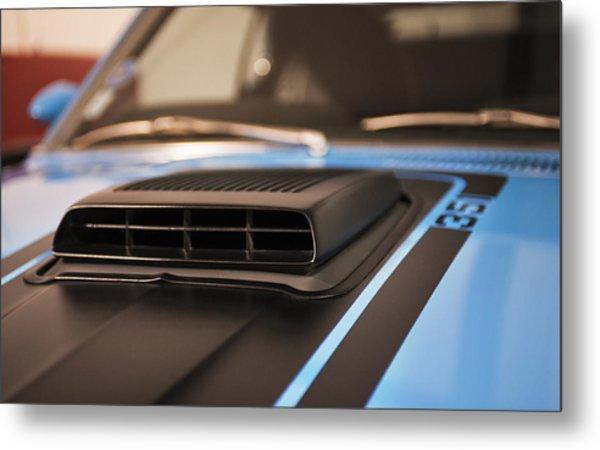 Mustang Mach 1 Shaker Hood Scoop Metal Print