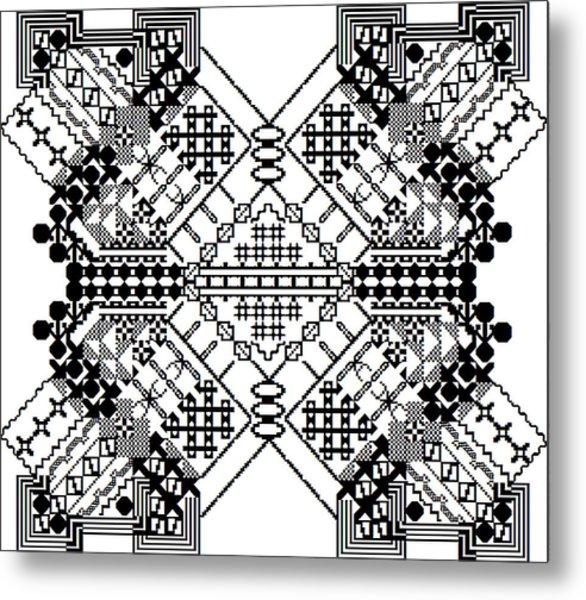 Mutated Division Metal Print