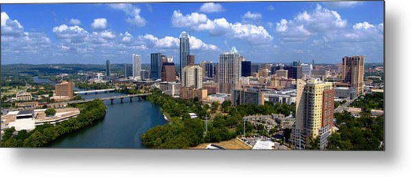 My Austin Skyline No Signature Text Metal Print