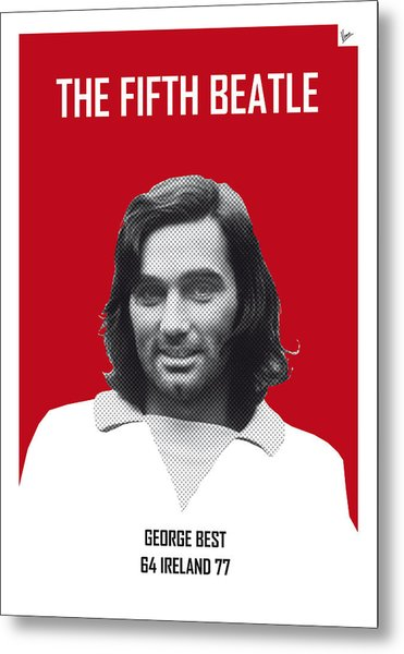 My Best Soccer Legend Poster Metal Print