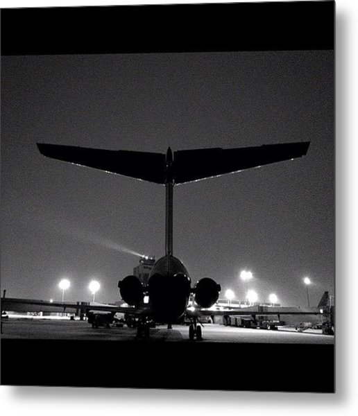 My Big Bird The Md-88 #cak #akron Metal Print