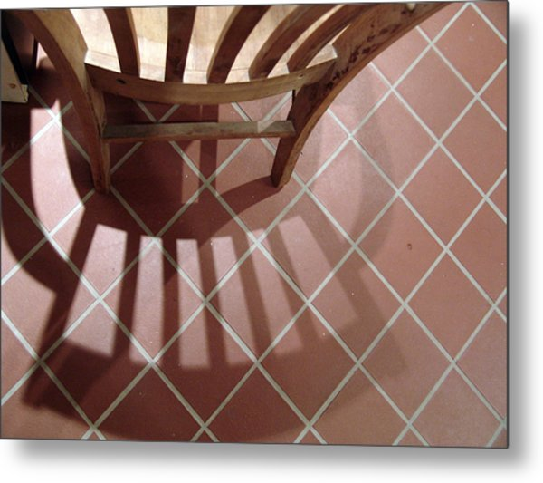 My Chair Metal Print