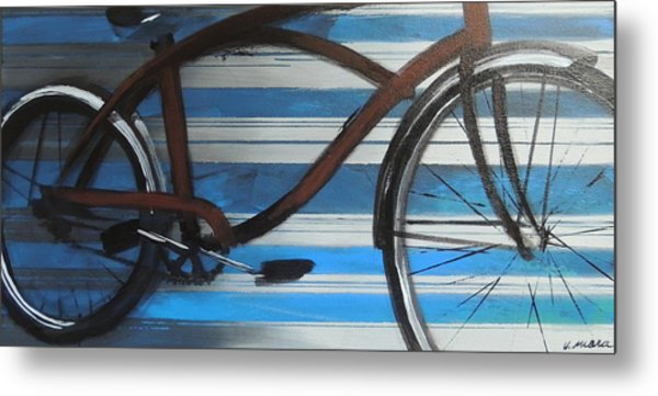 My Cruiser Metal Print by Vivian Mora
