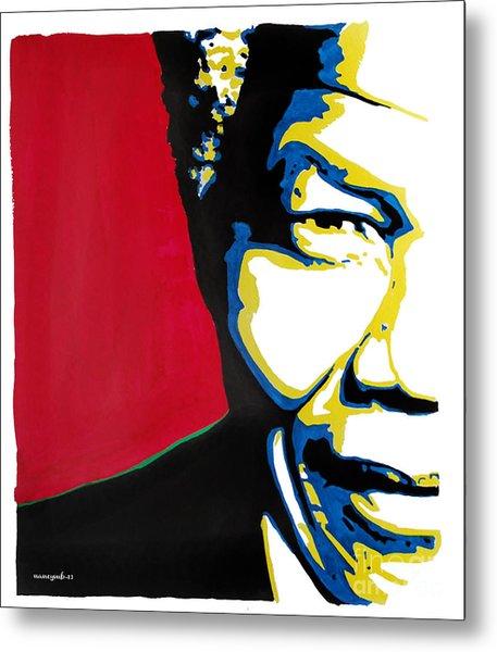 My Dear Nelson Mandela Metal Print